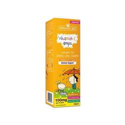 Vitamin C dạng giọt Natures Aid cho bé từ 3 tháng tới 5 tuổi 50ml