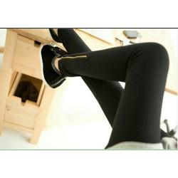 Quần legging phối dây kéo chân cực đẹp