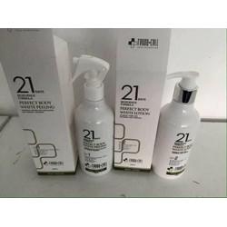 Bộ sản phẩm tắm trắng Hàn Quốc21 days