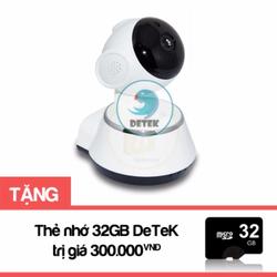 Camera không dây V380 có hồng ngoại Tặng thẻ nhớ 32GB