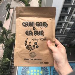 Cám gạo cafe chuyên dưỡng da toàn thân