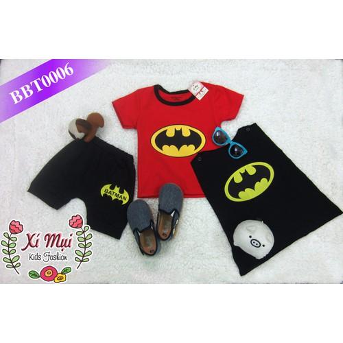 Bộ Batman áo choàng