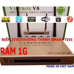 SMART ANDROID TIVI BOX V8 GIÁ BUÔN