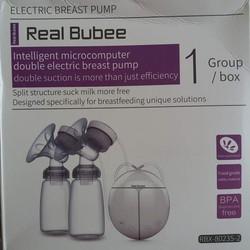 Máy hút sữa điện hút 2 bên có Massage Real Bubee