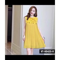 Đầm Dập Li Phối Ren Quảng Châu