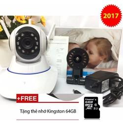 Camera IP 360 3 Râu Full HD 1080P Siêu nét 2017