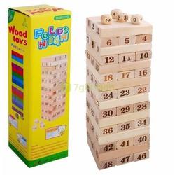 Bộ đồ chơi rút gỗ 4 viên xúc xắc