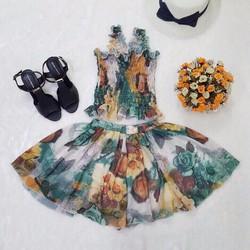 sét váy đi biển