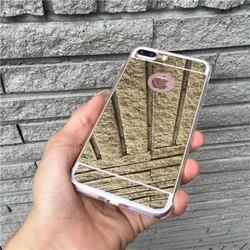 Ốp lưng iphone 5 5S tráng gương