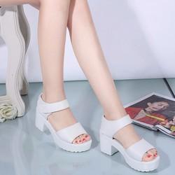 S062T - Thoitrangxinh - Giày Sandal đế bánh mì