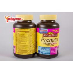 Viên uống vitamin cho bà bầu Nature Made Prenatal Multi+Dha 150 viên