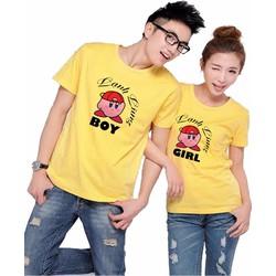 Áo thun đôi boy girls