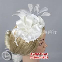 Mũ đội đầu cô dâu kiểu lêch bên , màu trắng đẹp nhẹ nhàng