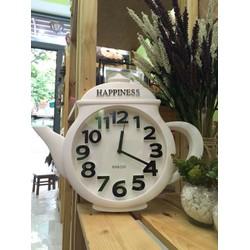 Đồng hồ treo tường hình ấm trà