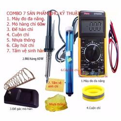 Bộ 7 sản phẩm cho kỹ thuật