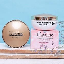 Kem Dưỡng Trắng Da Toàn Thân - Herbal Whitening Body Cream Lavoine