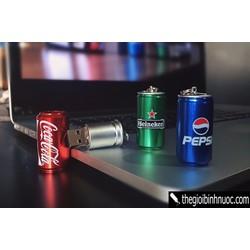 USB Lon Pepsi, Coca Cola, Heineken 16GB U26