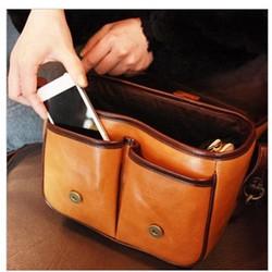 Túi da đựng máy ảnh Size M