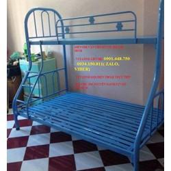 Giường sắt  tầng  DUY PHƯƠNG TRÊN 1m- TẦNG DƯỚI 1m2-2m sơn tĩnh điện