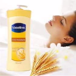 Sữa dưỡng thể Vaseline Total Moisture Conditioning 725ml Mỹ