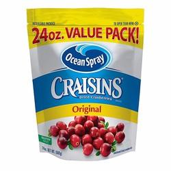 Quả nam việt quất sấy khô Ocean Spray Craisins Dried Cranberries