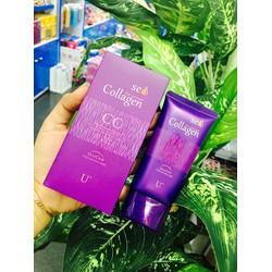 Kem lót makeup CC Cream Collagen Skin Care
