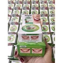 Kem Tẩy Trắng Răng Thái Lan Green Herb hũ lớn tặng hũ nhỏ