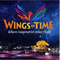 Vé nhạc nước Wings of time Singapore  - Ca 20h40