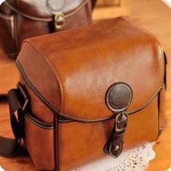 Túi da đựng máy ảnh Size S