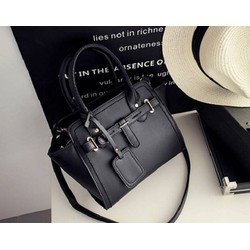 Túi xách thời trang Kelly - Màu đen