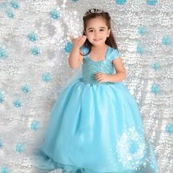 V17 - Váy công chúa Elsa