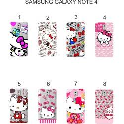 Ốp lưng Samsung Galaxy Note 4 dẻo in hình Kitty