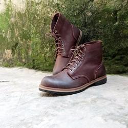 Giày cao cổ nam da bò bụi bặm Redwing Beckman