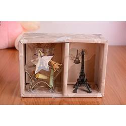 Quà Tặng Tháp Paris Và Bình Thuỷ Tinh L1