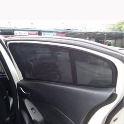 Bộ rèm che nắng nam châm cho xe Toyota Corolla Altis đời 2008 - 2017