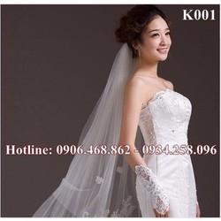 khăn voan cô dâu K001