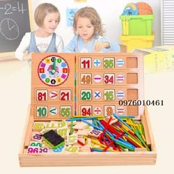Bảng gỗ học toán cho bé