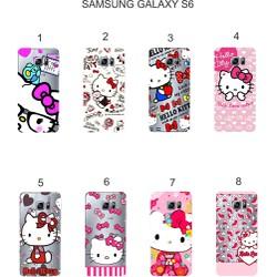 Ốp lưng Samsung Galaxy S6 dẻo in hình Kitty