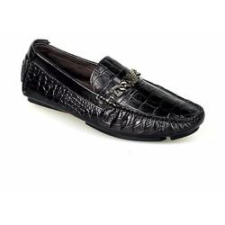 Giày mọi mùa hè cho nam màu đen sang trọng mới mã GM206D