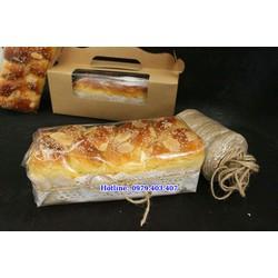 Bánh mì hoa cúc hương thơm ngạt ngào