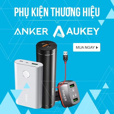 Phụ Kiện Thương Hiệu Anker - Aukey