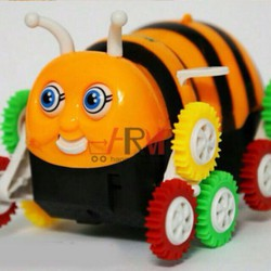 xe lật hình chú ong ngộ nghĩnh