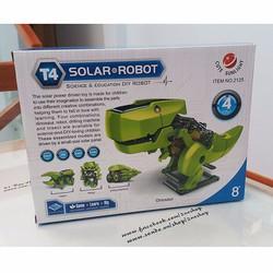 Bộ lắp ghép ROBOT 4 in1 hoạt động bằng năng lượng mặt trời MS: RO1704