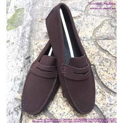 Giày mọi nam da lộn khóa da phong cách sành điệu GDNHK151