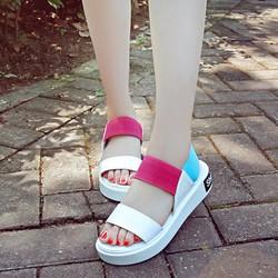 Giày Sandal nữ Phối Màu Dễ Thương Phong Cách Hàn Quốc - SD224W