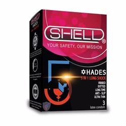 Bao Cao Su Shell Premium 5 in 1 SDE03
