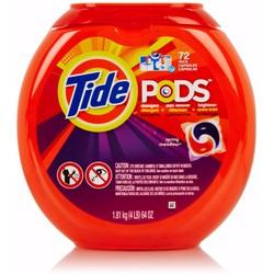 Nước giặt Tide PODS Spring Meadow 1.81kg 72 viên