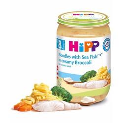 Thực Phẩm Đóng Lọ Hipp - Mì Tagliatelle, Cá Xốt Kem và Xúp Lơ Xanh