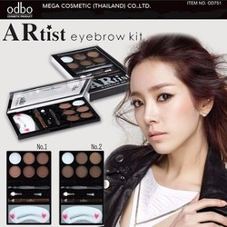 Bột Tán Chân Mày và Tạo Khối  ODBO ARtist eyebrow kit - Thái Lan