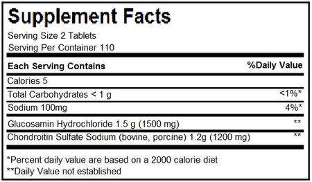 thành phần glucosamine 1500mg